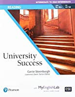 University Success Reading Intermediate to High-Intermediate, Student Book with MyEnglishLab