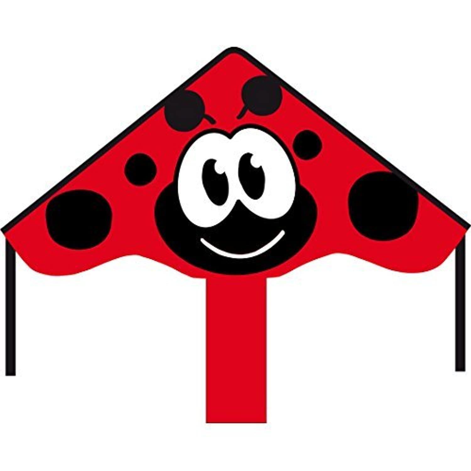 HQ Kites Simple Flyer Ladybug Kite, 33 by HQ Kites and Designs