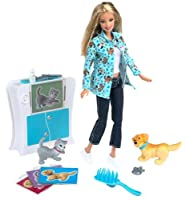 バービー人形Barbie PET DOCTOR with working X-Ray machine! [並行輸入品]
