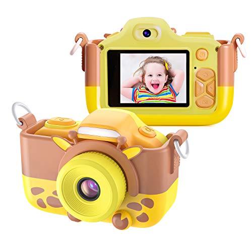 TurnRaiseミニデジタルカメラ 自撮可能 2.0インチ液晶ディスプレイ キッズカメラ 1600万画