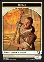 Magic: the Gathering - Human Token - Duel Decks: Blessed vs Cursed