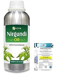 Nirgundi (Vitex negundo) 100% Natural Pure Essential Oil 1000ml/33.8fl.oz.