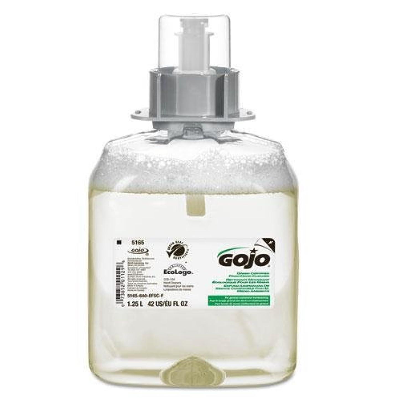 ふりをする中央値段階goj516503 – FMXグリーンシールフォームHandwashディスペンサー詰め替え、無香、1250 ml