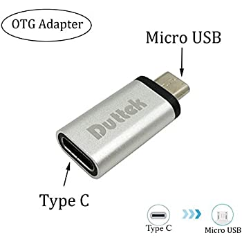 Aluminum Type-c To Micro Usb Connector Keychain Usb-c To Micro Usb Adapter Bright In Colour Computer & Office