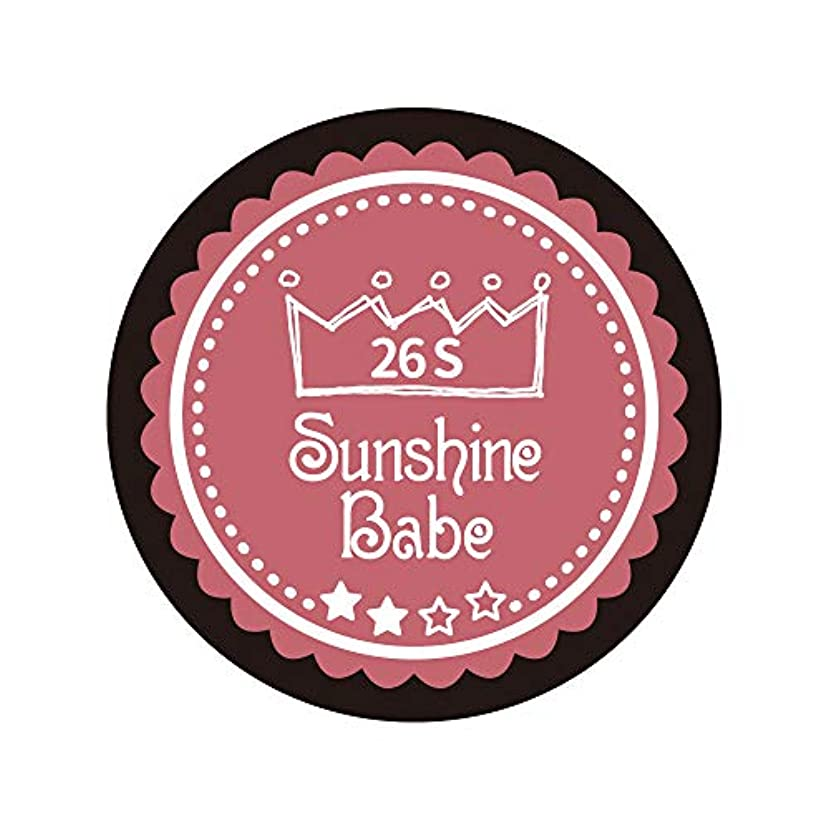 Sunshine Babe カラージェル 26S ダスティローズ 2.7g UV/LED対応