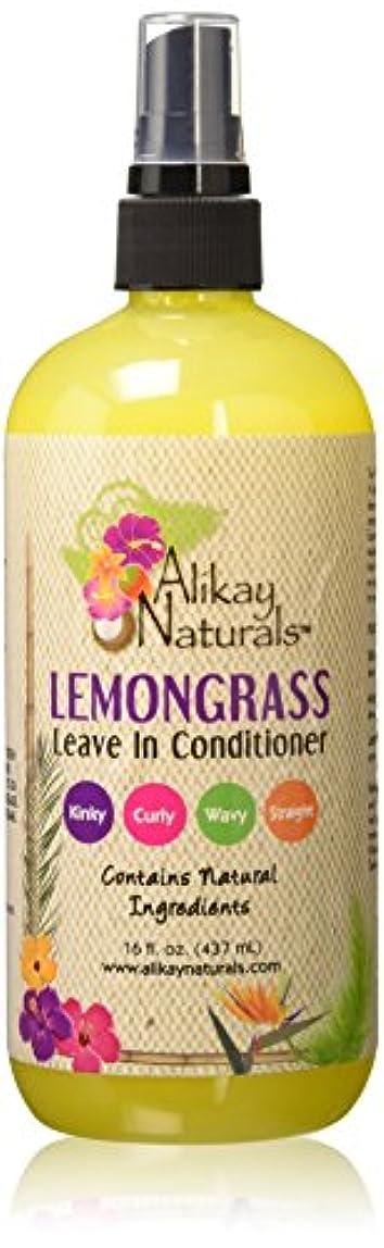 陰気しおれた鷲Alikay Naturals - レモングラスは、リーブインコンディショナー16オズ