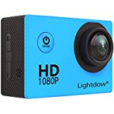 "Lightdow LD4000 1080P HD Sports Action Camera Kit - DSP:NT96650 + 1.5"" LPS-TFT LCD + 170° Wide Angle Lens"