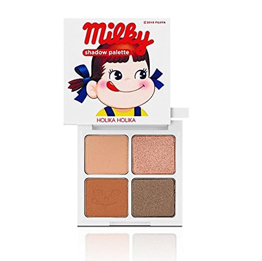 Holika Holika [Sweet Peko Edition] 4 Shadow Palette #02 Milk Caramel/ホリカホリカ [スイートペコエディション] 4色シャドウパレット [並行輸入品]
