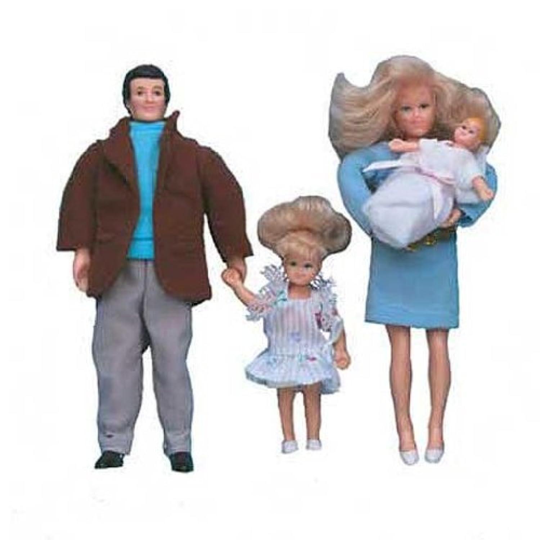 Dollhouse Miniature Modern Dollhouse Family by