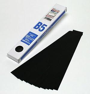 清和産業 製本テープ B5カット 業務用(黒)(50枚入)