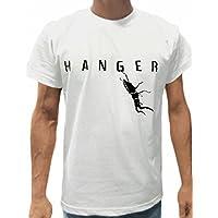 (ドラゴンスリーライン) HANGER MENS クワガタ プリント 半袖 Tシャツ 菌糸瓶入