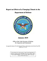 Report on Effects of a Changing Climate to the Department of Defense