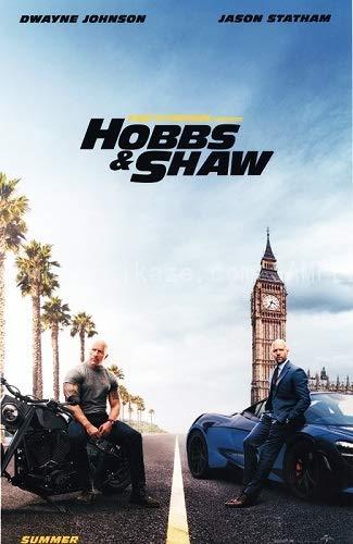映画ポスター ワイルドスピード スーパーコンボ ホブスアンドショウ Hobbs & Shaw US版 hi1 [並行輸入品]