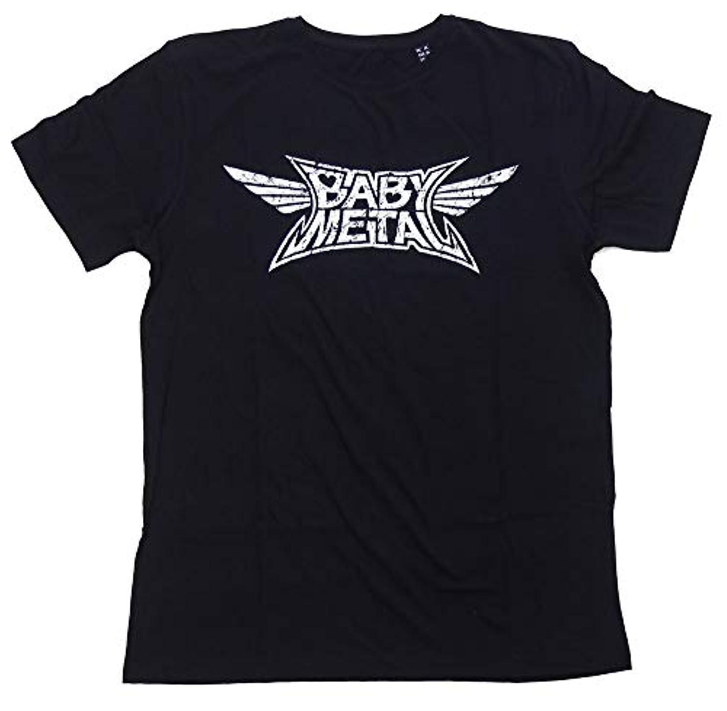 保安哲学的無駄にベビーメタル?BABYMETAL?LOGO?Tシャツ?UK版?オフィシャル バンドTシャツ?ロックTシャツ