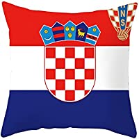vipeco夏2018 National Flag印刷クッションカバー枕ケースホームインテリア