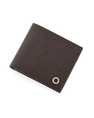 (ブルガリ) BVLGARI レザー リングデザイン 二つ折り財布 CHOCOLATE 33377 [並行輸入品]