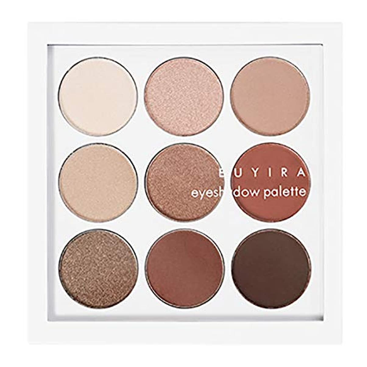 親密な商品光EUYIRA アイシャドーパレット (Brown Nine) / EYESHADOW PALETTE NATURAL BROWN NINE