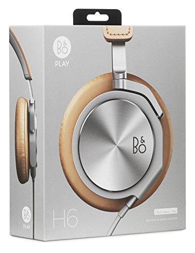 【国内正規品】B&O play BeoPlay H6 密閉型オーバーイヤーヘッドホン《天然革》/ナチュラル BeoPlay H6 Natural