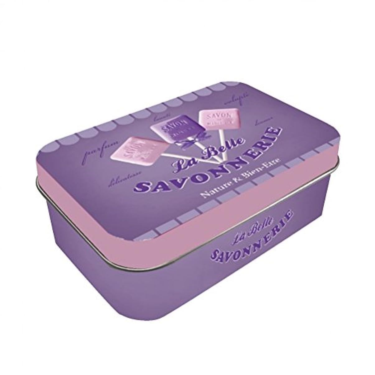 順番しっかりそれプロヴァンスソープボックス – Marseille Soap 10 x 6.5 X 3.5 CM
