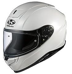 オージーケーカブト(OGK KABUTO)バイクヘルメット フルフェイス AEROBLADE5 パールホワイト 569808 L (頭囲 59cm~60cm)