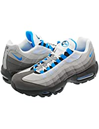[ナイキ] AIR MAX 95 WHITE/CRYSTAL BLUE 【26.0cm~29.0cm】 [並行輸入品]