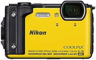 Nikon W300 Digital Camera, Yellow