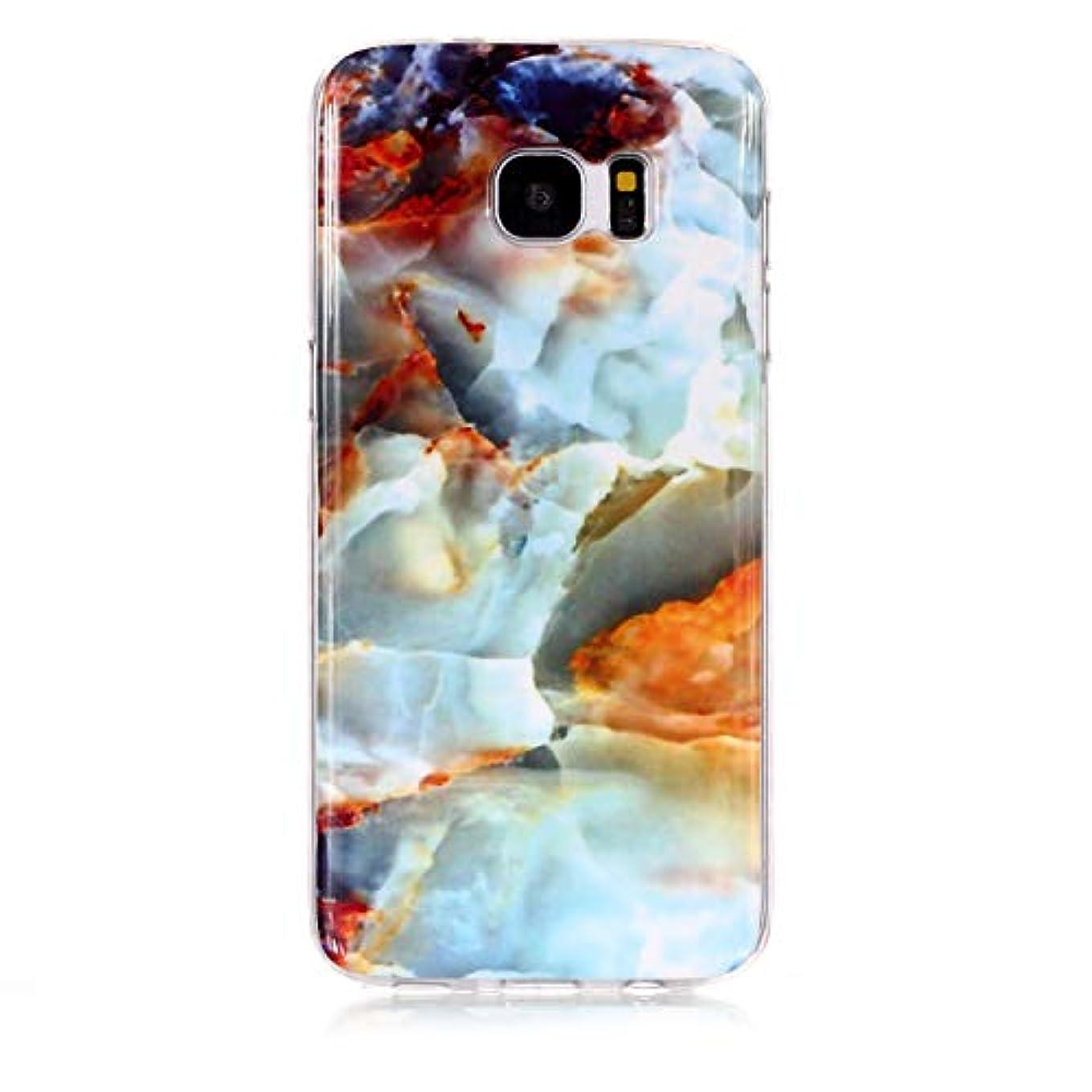 ジェムサラミ慈悲Galaxy S7 ケース シリコン ソフト, Lomogo ギャラクシーS7 ケース 携帯カバー 耐衝撃 防塵 おしゃれ - LOYHU230541#1