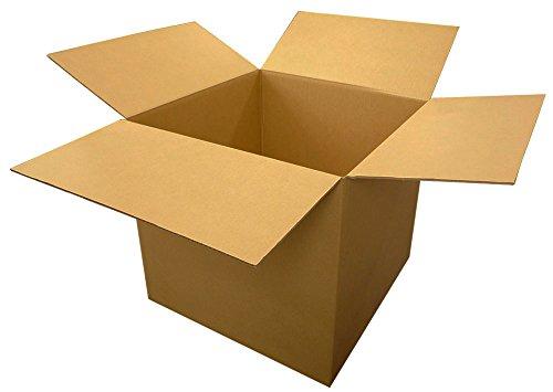 ボックスバンク ダンボール(段ボール)ダンボール箱 160サイズ 5枚セット【55×55×45cm】引越し・配送 FD22-0001