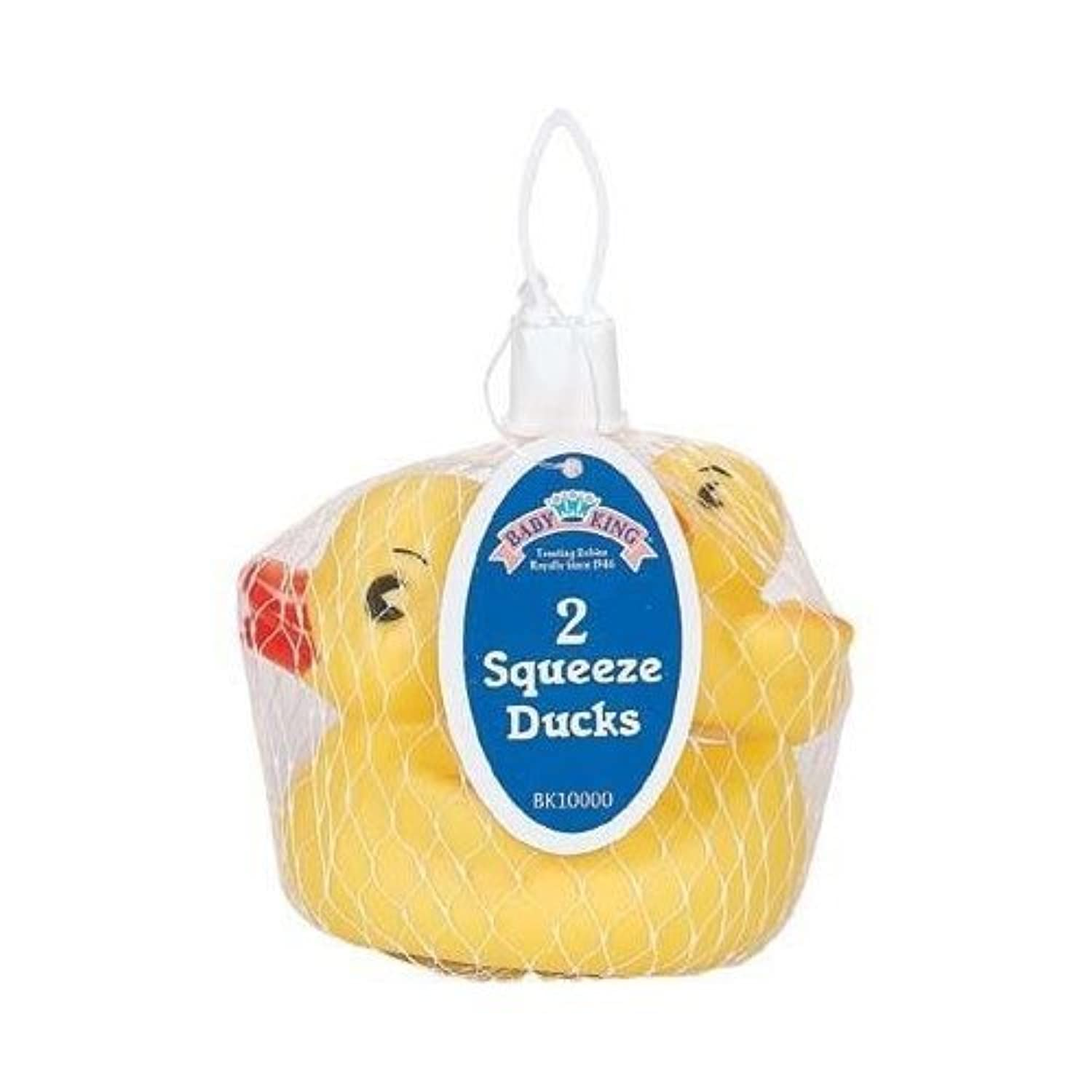 Squeeze Toy Ducks 2Pkおもちゃ [並行輸入品]