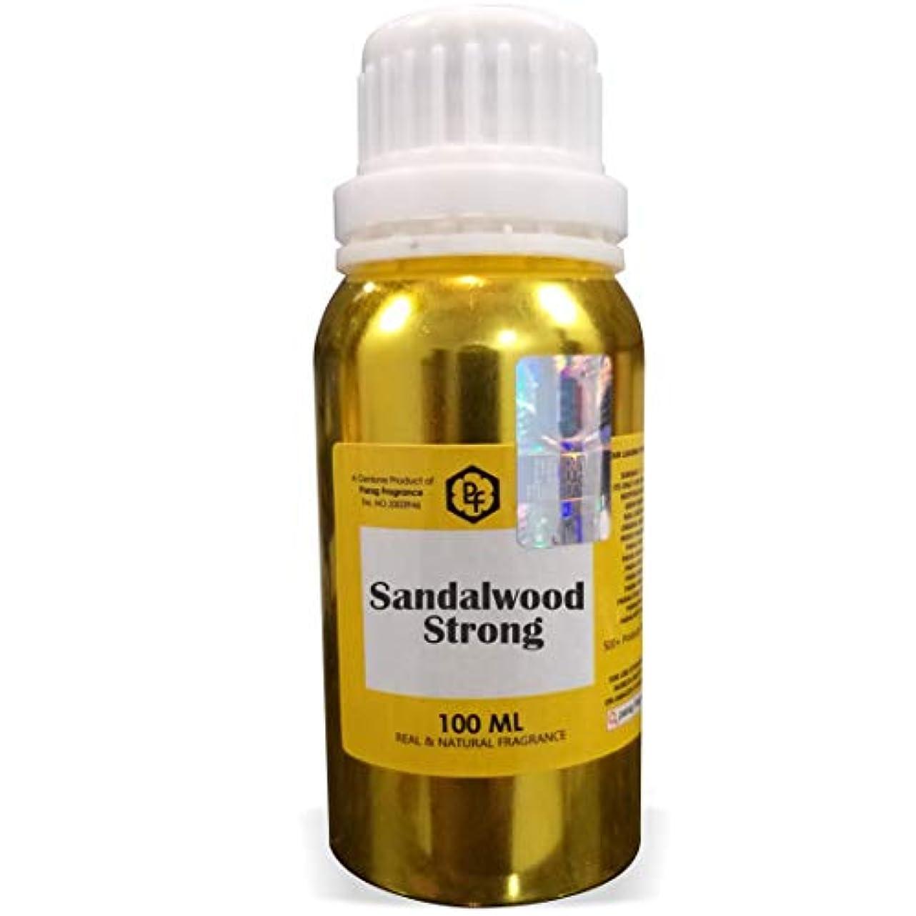 宙返り援助するフットボールParagフレグランスサンダルウッド強いアター100ミリリットル(男性用アルコールフリーアター)香油  香り  ITRA