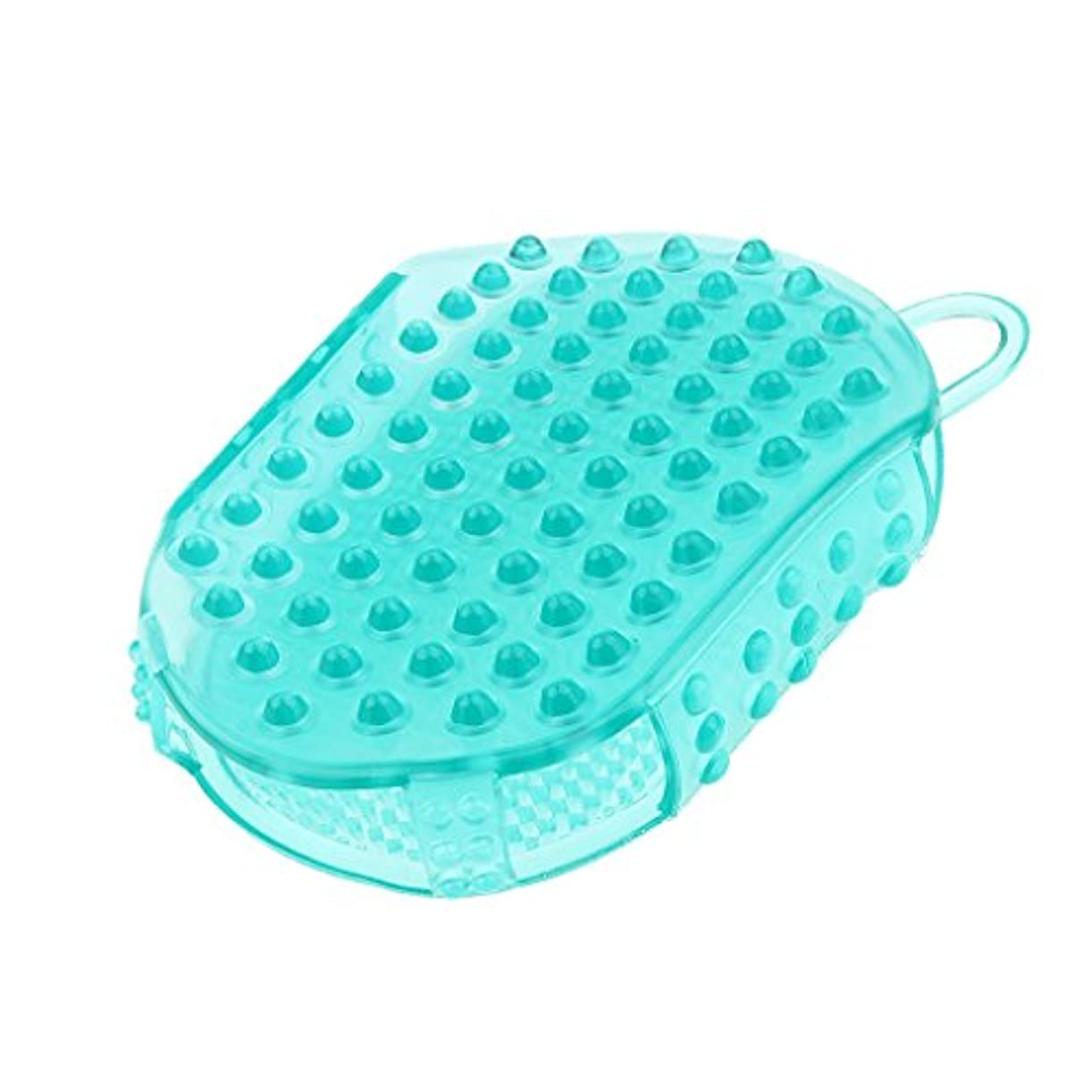 整理するドーム作り上げる頭皮マッサージ コーム ヘアマッサージャー 櫛 防水性 子供 大人 シャワー用 便利