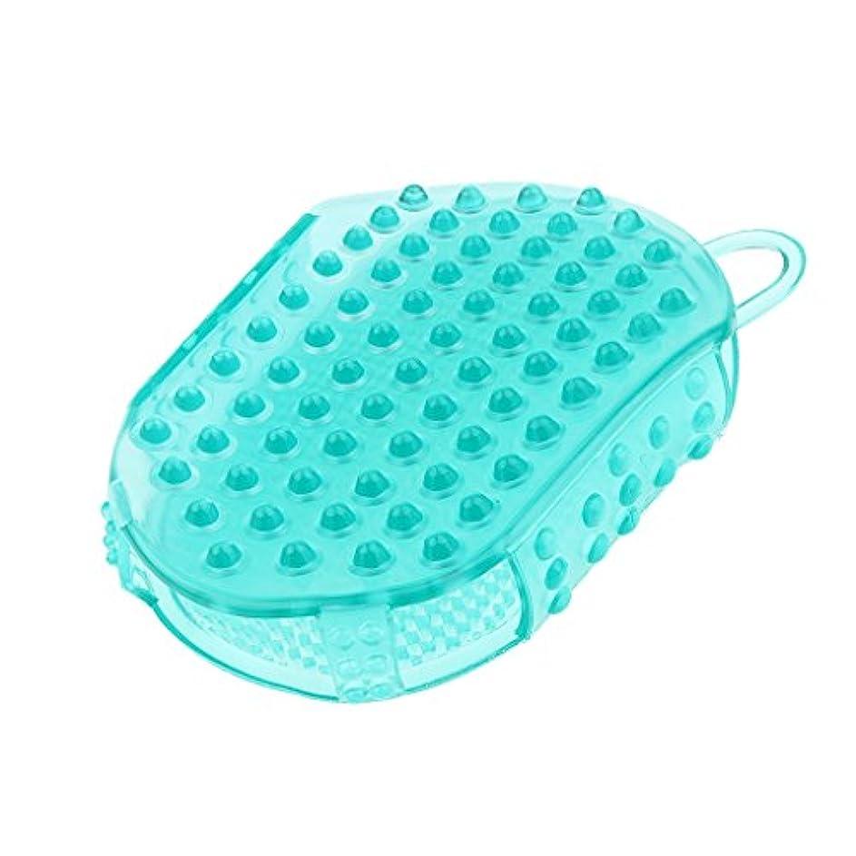 追放する耐えられない脚頭皮マッサージ コーム ヘアマッサージャー 櫛 防水性 子供 大人 シャワー用 便利