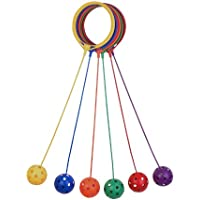 Champion Sports Swing Ball, Set of 6