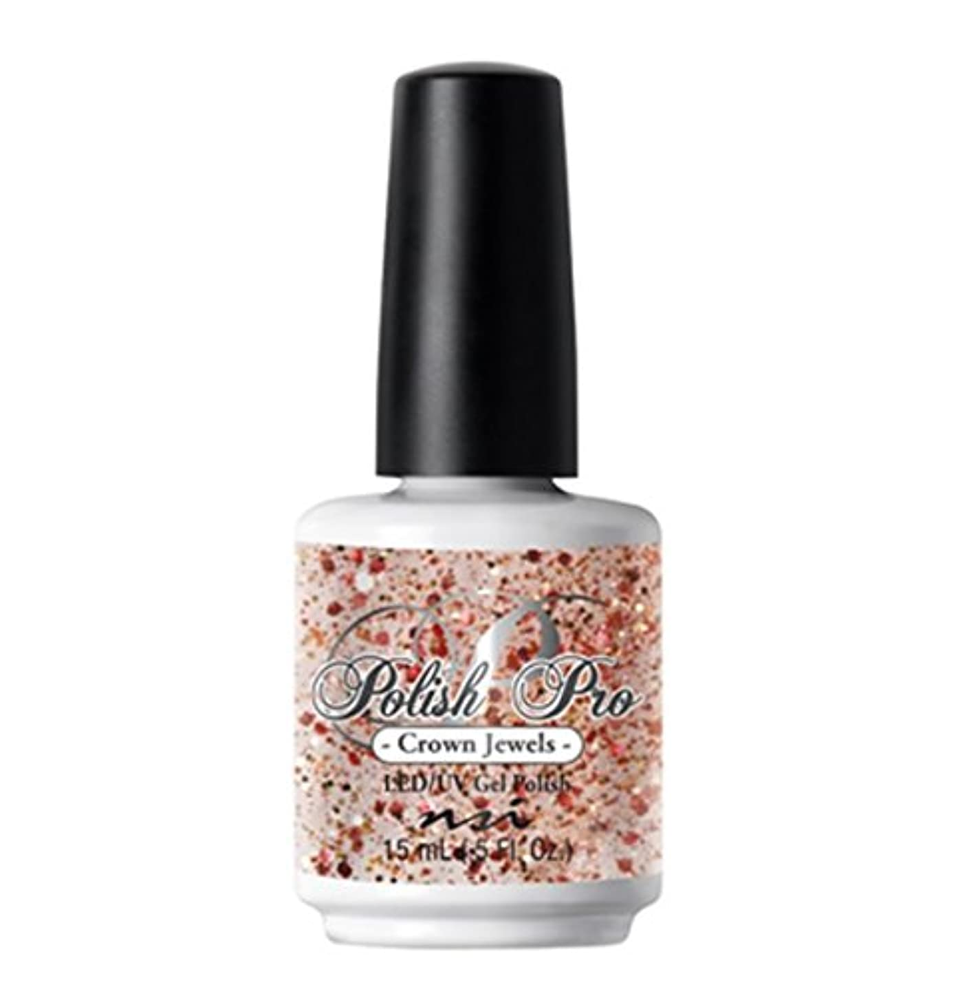 好奇心ウェブ優越NSI Polish Pro Gel Polish - The Ice Queen Collection - Crown Jewels - 15 ml/0.5 oz