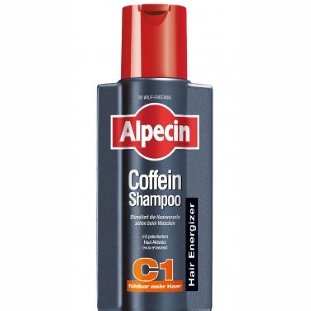 雄弁なに負ける無謀ALPECIN オーガニックシャンプー カフェインシャンプーC1 250ml【並行輸入品】