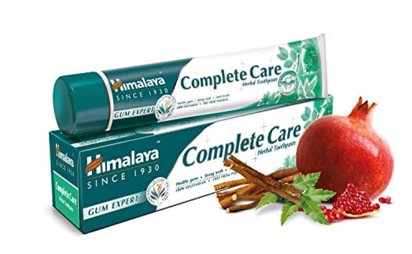 エンジニアポゴスティックジャンプ表面的なHimalaya Complete Care Toothpaste 100g
