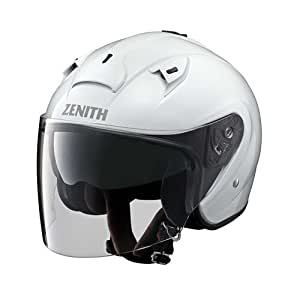 ヤマハ(YAMAHA) バイクヘルメット ジェット YJ-14 ZENITH サンバイザーモデル パールホワイト L(59-60cm) 90791-2278L