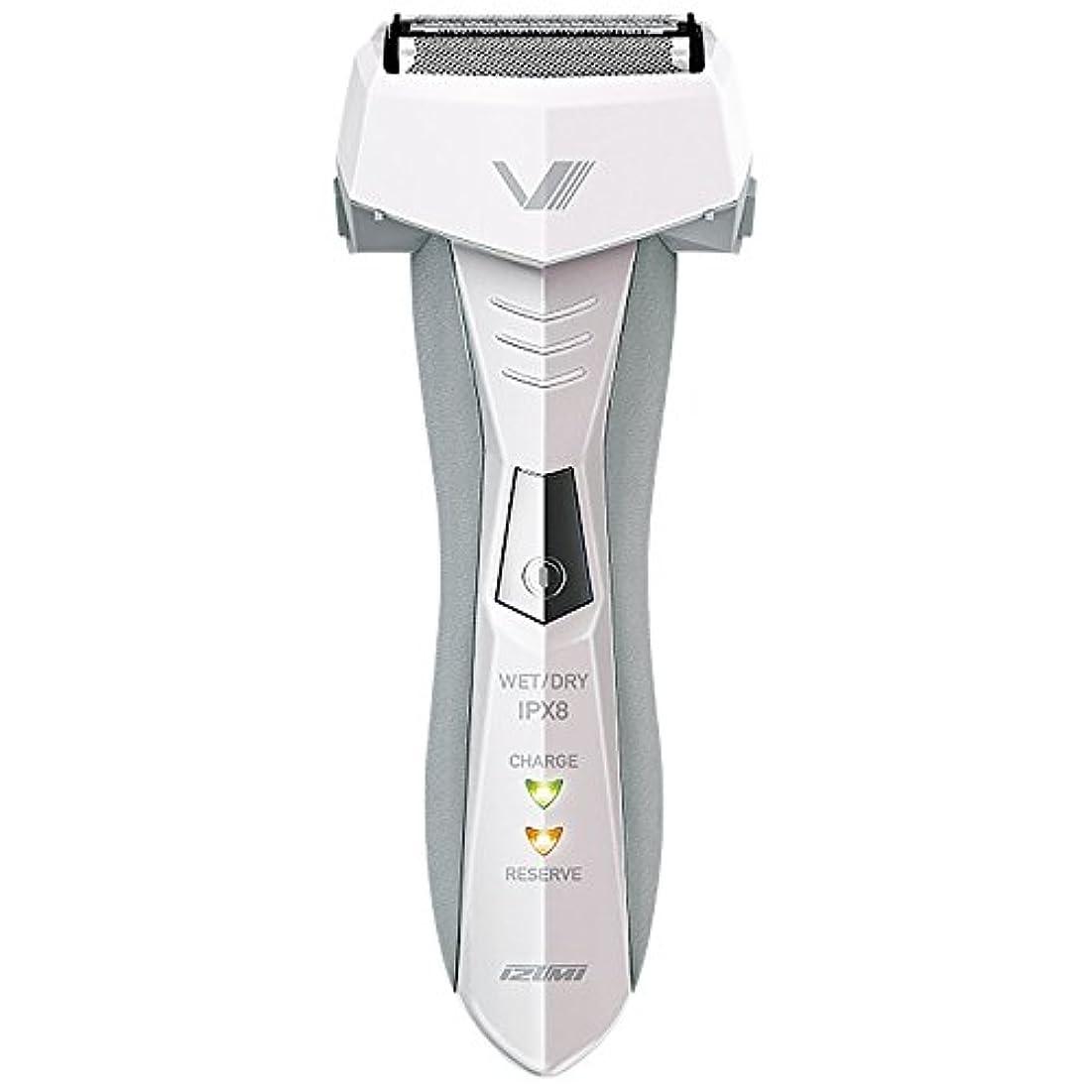 火薬試してみる玉IZUMI VIDAN 往復式シェーバー お風呂剃りシリーズ 3枚刃 ホワイト IZF-V46-W