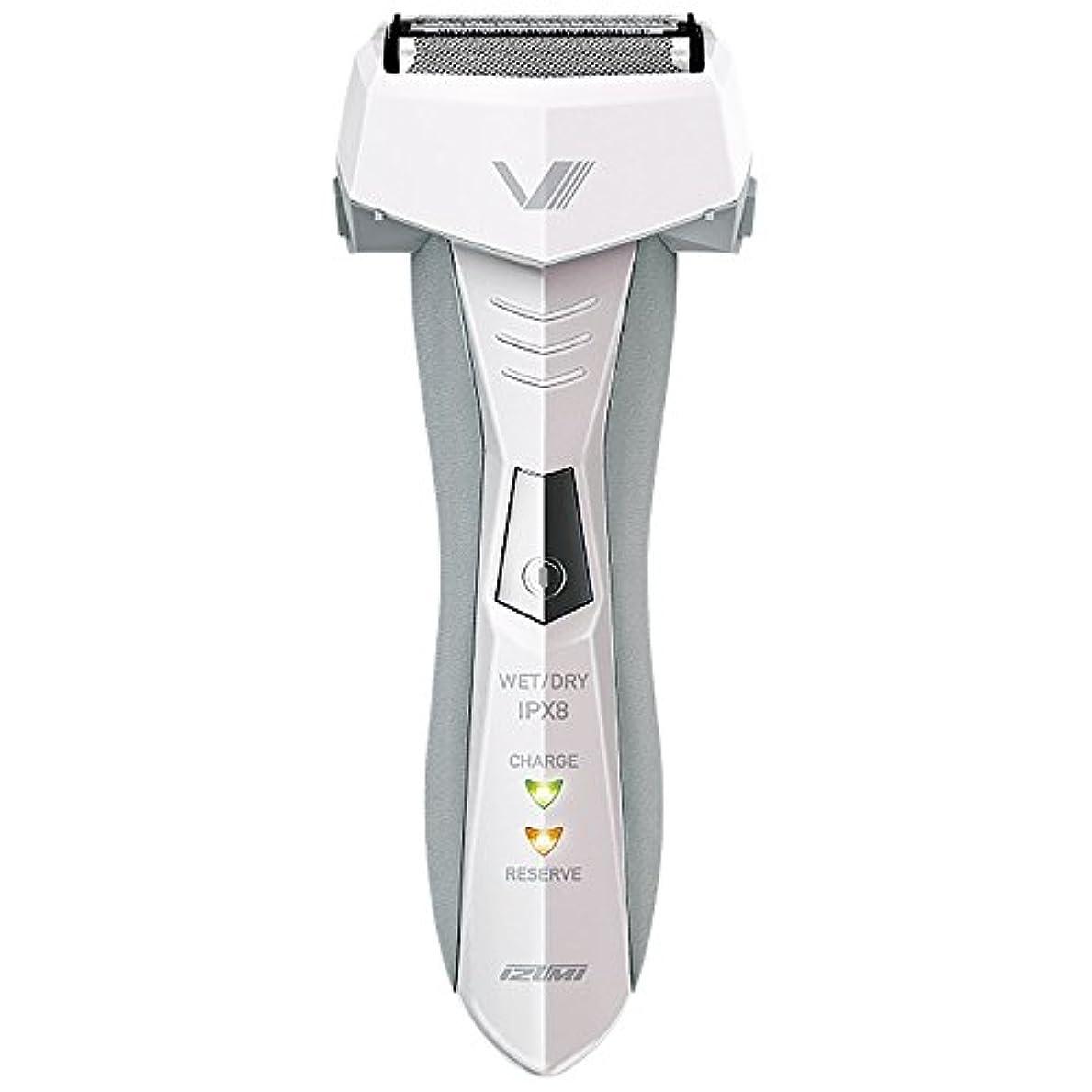マッシュ再び隠されたIZUMI VIDAN 往復式シェーバー お風呂剃りシリーズ 3枚刃 ホワイト IZF-V46-W
