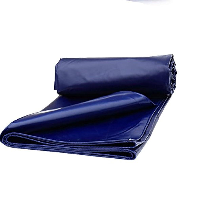 疑い者音声学賠償12J-weihuiwangluo 屋外テントターポリンテント厚い防水サンシェードトラックポンチョ耐摩耗性抗腐食涙 (Color : 青, サイズ : 2x2M)