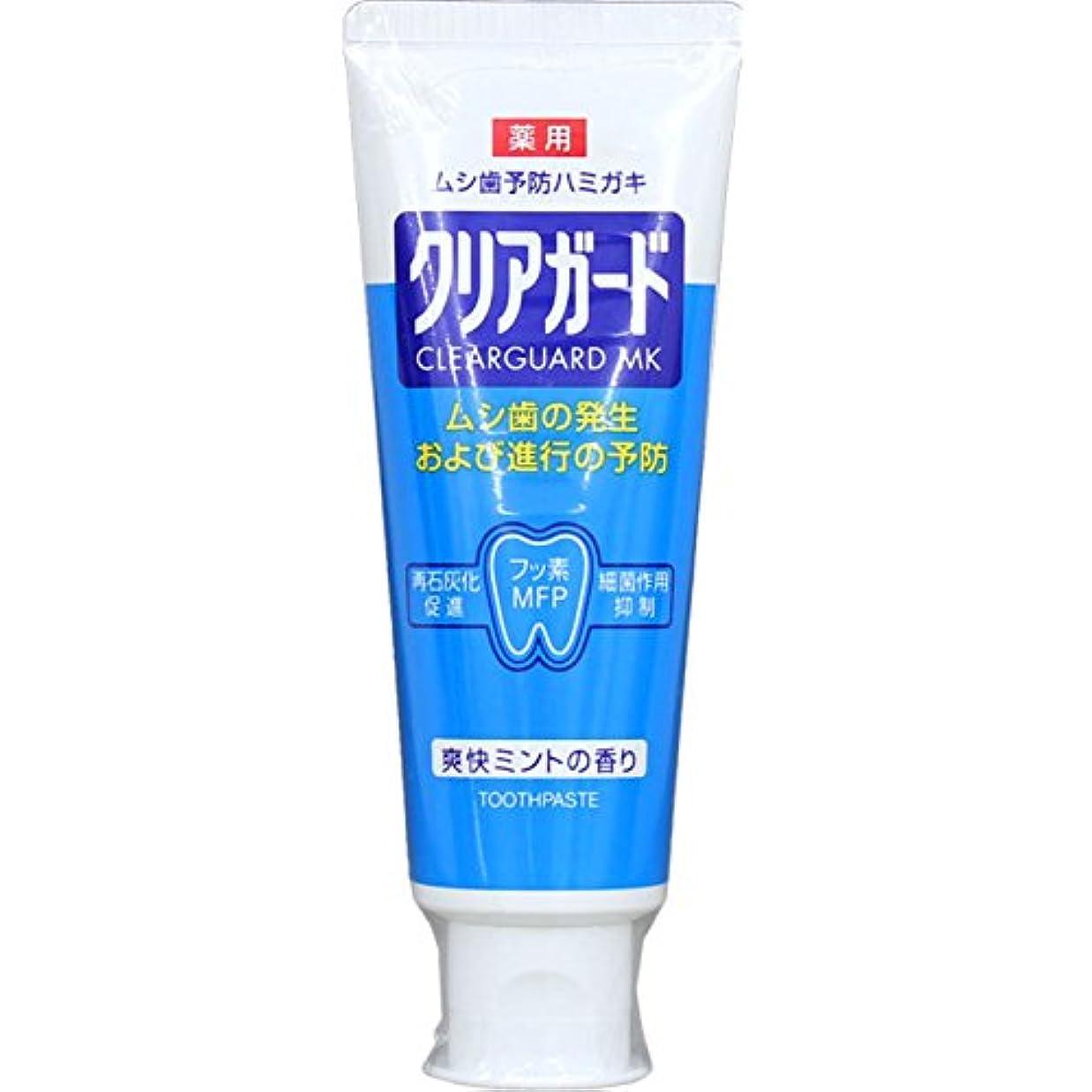 研磨日帰り旅行に二十薬用クリアガード 160g (医薬部外品)