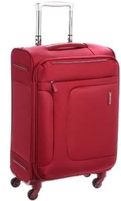 [サムソナイト] SAMSONITE ASPHERE/アスフィア スピナー55 (55cm/39L/2.4Kg) (スーツケース・ソフトケース・トラベル・機内持込サイズ・軽量・大容量・エキスパンダブル・TSAロック装備・保証付) 72R*00001 00 (レッド)