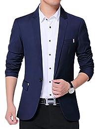 OKJCON ジャケット メンズ スーツ テーラードジャケット 秋冬 スーツジャケット カジュアル ビジネス スリム おしゃれ おおきいサイズ