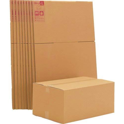 アイリスオーヤマ ダンボール ボックス DB-L4×10