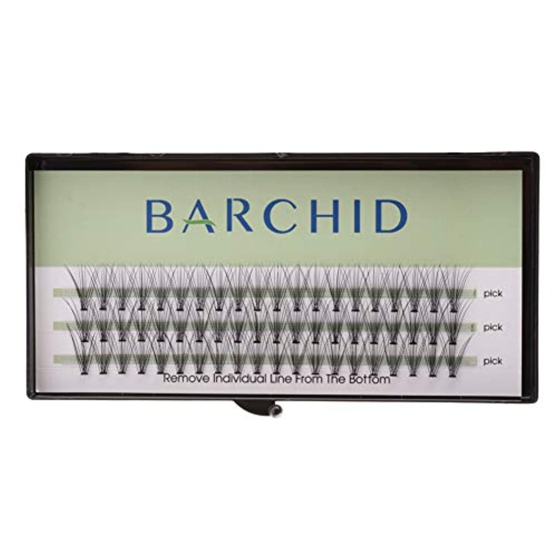 BARCHID つけまつげ ナチュラルつけまつげ高品質 まつげエクステ フレアセルフ用 超極細素材 太さ0.07mm 12mm Cカール マツエク10本束セルフマツエク キット