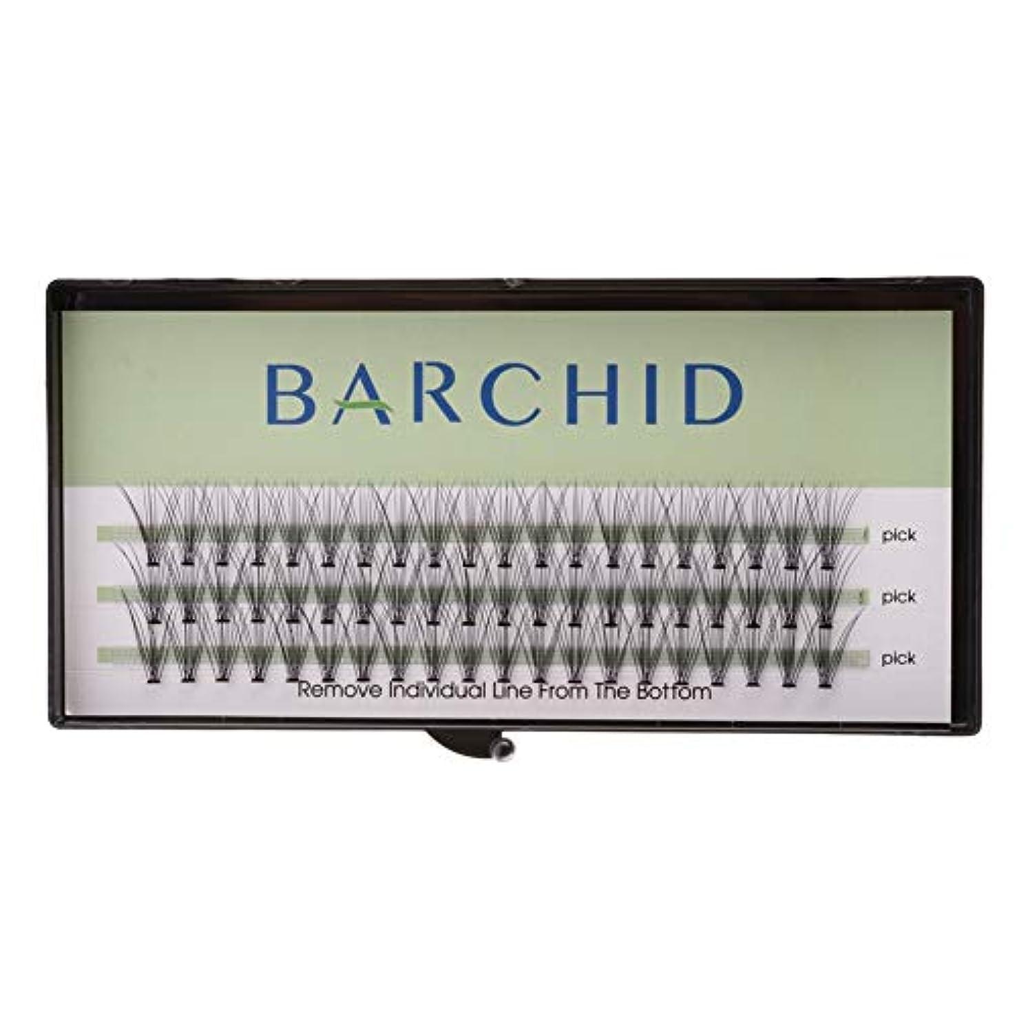 容器裁定中国BARCHID つけまつげ ナチュラルつけまつげ高品質 まつげエクステ フレアセルフ用 超極細素材 太さ0.07mm 12mm Cカール マツエク10本束セルフマツエク キット