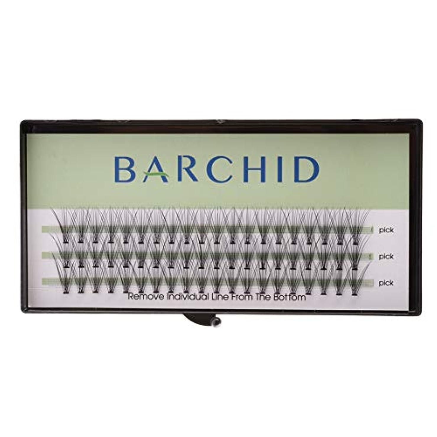 備品ハチ海外BARCHID つけまつげ ナチュラルつけまつげ高品質 まつげエクステ フレアセルフ用 超極細素材 太さ0.07mm 12mm Cカール マツエク10本束セルフマツエク キット