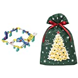 ころがスイッチ ドラえもん ワープキット + インディゴ クリスマス ラッピング袋 グリーティングバッグ3L クリスマスツリー ダークグリーン XG984