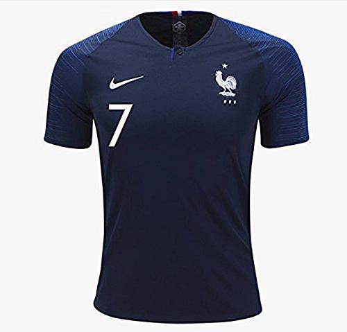 サッカーFrance(フランス) Antoine Griezmann ワールドカップ2018ホーム半袖ユニフォーム L