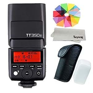 【正規品 技適マーク付き】Godox Thinklite TTL 2.4GHz TT350F ミニカメラフラッシュ高速1 / 8000s GN36 DSLR 富士フイルム カメラ X-Pro2、X-T20、X-T2、X-T1、X-Pro1、X-T10、X-E1、X-A3、X100F、X100T